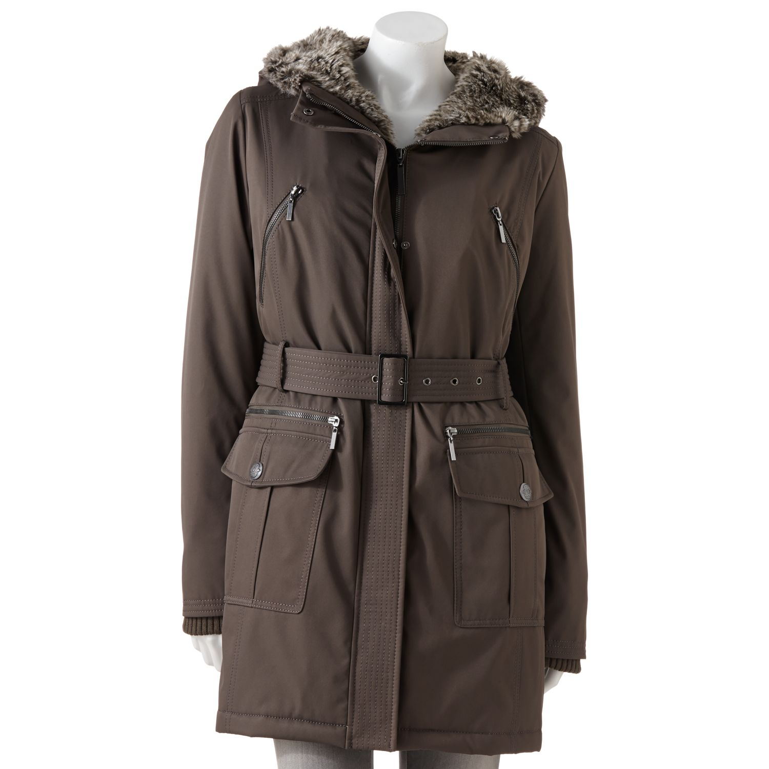 Fleet Street Hooded Parka