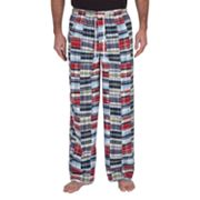 Residence Madras Plaid Lounge Pants - Big and Tall