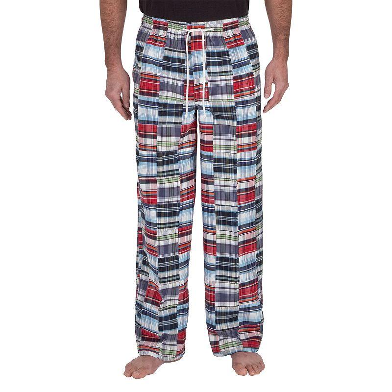 Residence Madras Plaid Lounge Pants - Big and Tall