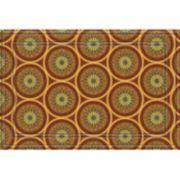 "Apache Mills Medallions Faux-Coir Doormat - 24"" x 36"""