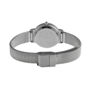 Peugeot Two Tone Mesh Watch & Interchangeable Bezel Set - 642