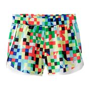 FILA SPORT Geometric Performance Shorts - Girls 7-16