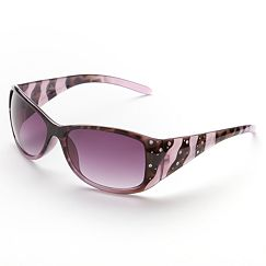 Fantas-Eyes Rhinestone Retro Sunglasses