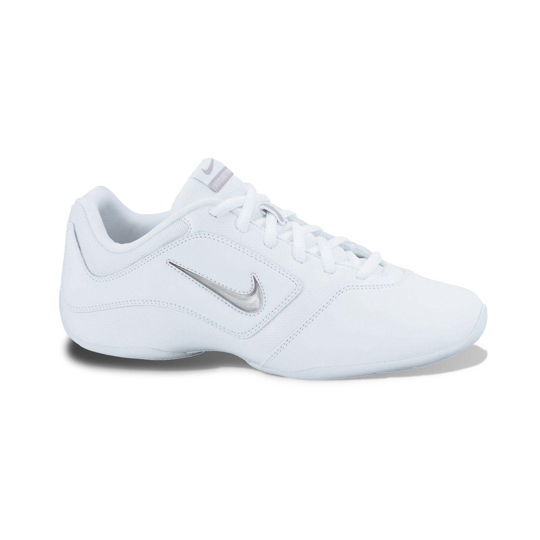 Nike White Sideline II Insert Cheer Shoes - Women