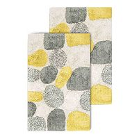Chesapeake Pebbles 2 pc Bath Rug Set