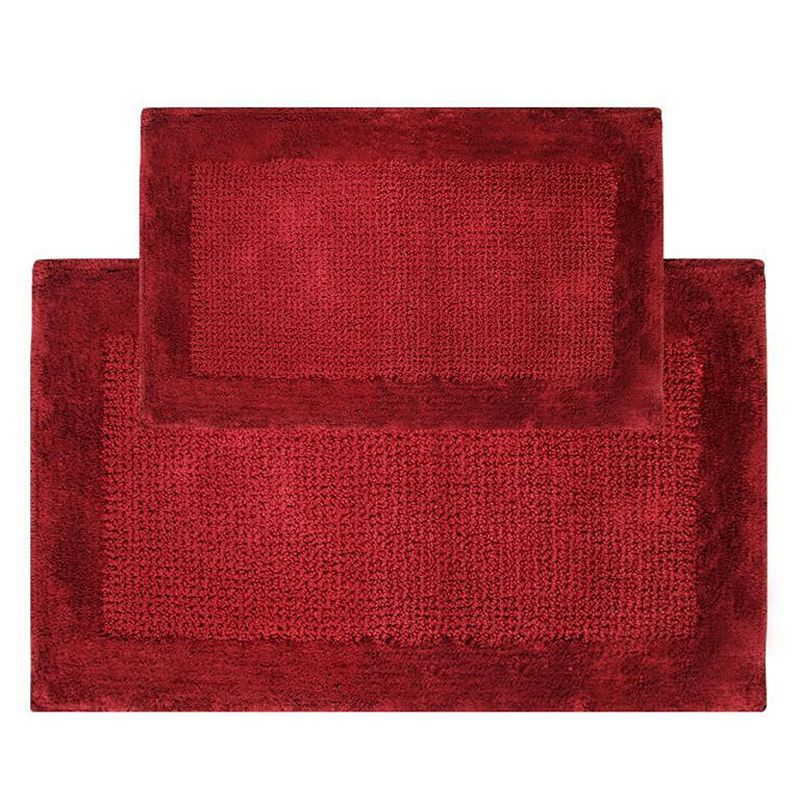 Chesapeake Naples 2-pc. Bath Rug Set, Red