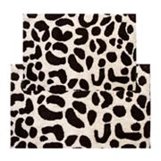 Chesapeake Leopard 2-pc. Bath Rug Set