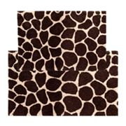 Chesapeake Giraffe 2 pc Bath Rug Set