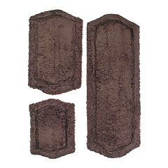 Chesapeake Paradise Memory Foam 3 pc Bath Rug Set