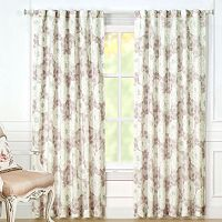 Laura Ashley 2-pack Nina Sheer Window Curtains - 40'' x 84''