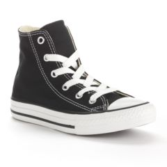 black converse high tops kids