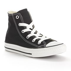158d7235344dad Kid s Converse Chuck Taylor All Star High Top Shoes. Black White ...