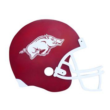 Arkansas Razorbacks 3D Football Helmet Wall Art