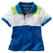 SONOMA life + style Colorblock Rugby Polo - Toddler