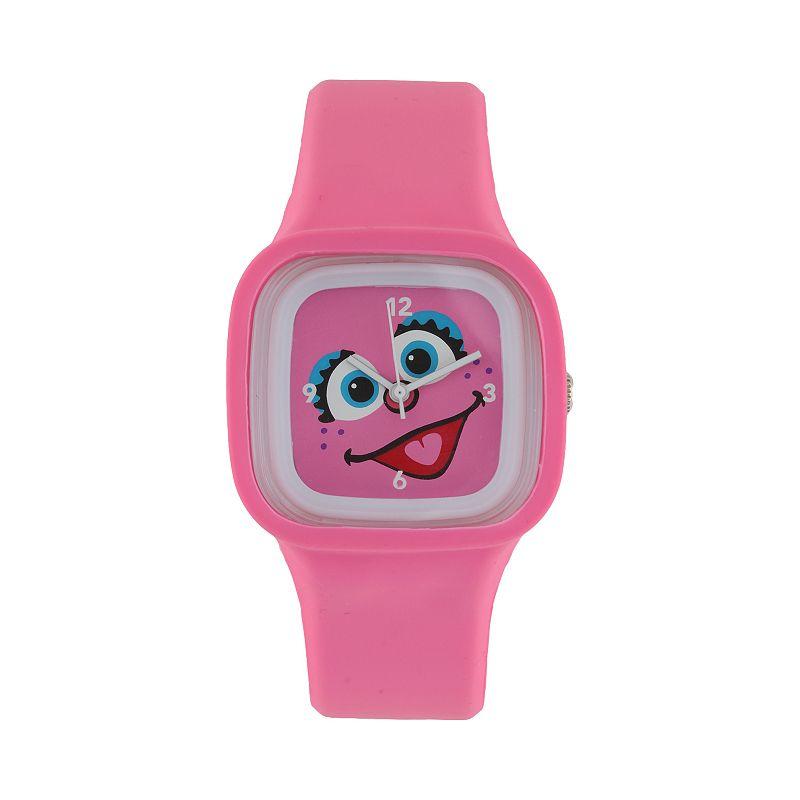 Sesame Street Abby Cadabby Pink Jelly Watch - SW628AB - Kids