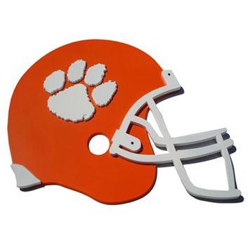 Clemson Tigers 3D Football Helmet Wall Art