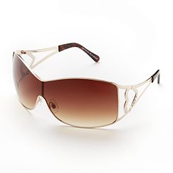 XOXO Hearts Shield Sunglasses