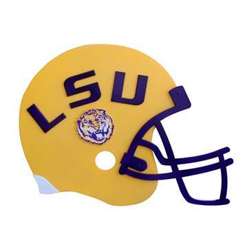 LSU Tigers 3D Football Helmet Wall Art