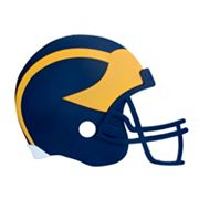 Michigan Wolverines 3D Football Helmet Wall Art