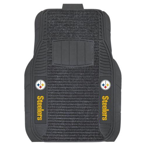 FANMATS 2-pk. Pittsburgh Steelers Deluxe Car Floor Mats