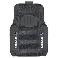 FANMATS 2 pkDallas Cowboys Deluxe Car Floor Mats