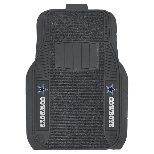 FANMATS 2-pk. Dallas Cowboys Deluxe Car Floor Mats