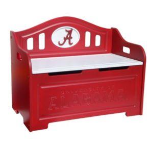 Alabama Crimson Tide Storage Bench