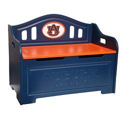 Auburn Tigers Storage Bench by