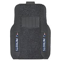 FANMATS 2-pk. New England Patriots Deluxe Car Floor Mats