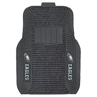 FANMATS 2-pk. Philadelphia Eagles Deluxe Car Floor Mats