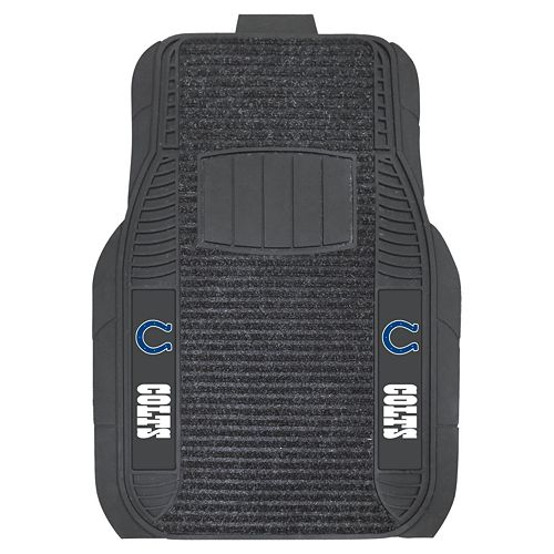 FANMATS 2-pk. Indianapolis Colts Deluxe Car Floor Mats