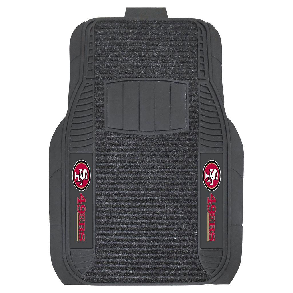 FANMATS 2-pk. San Francisco 49ers Deluxe Car Floor Mats