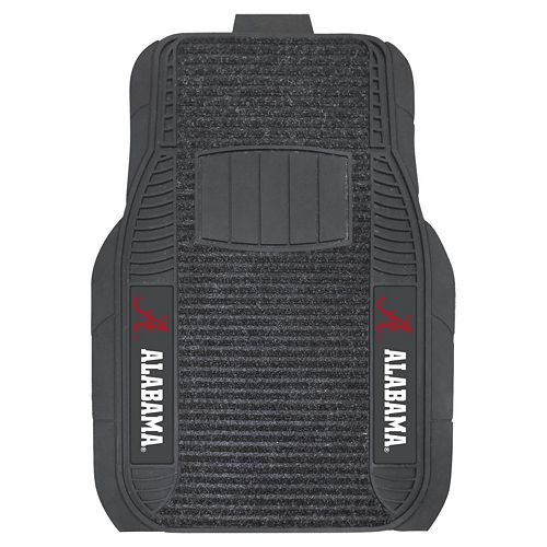 FANMATS 2-pk. Alabama Crimson Tide Deluxe Car Floor Mats