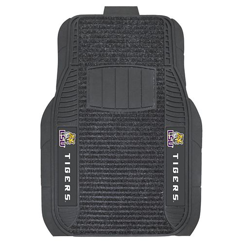 FANMATS 2-pk. LSU Tigers Deluxe Car Floor Mats