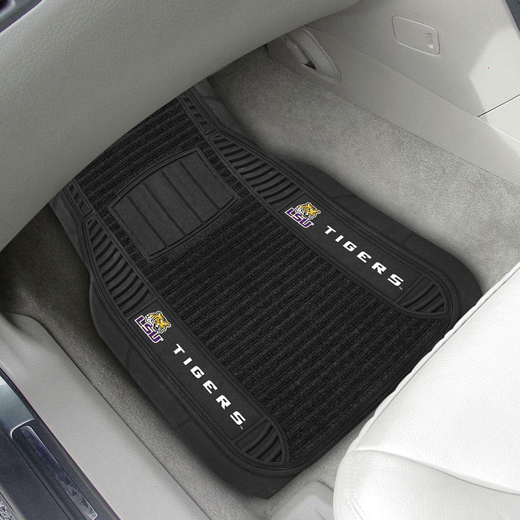 FANMATS 2-pk. LSU Tigers Deluxe Car Floor Mats