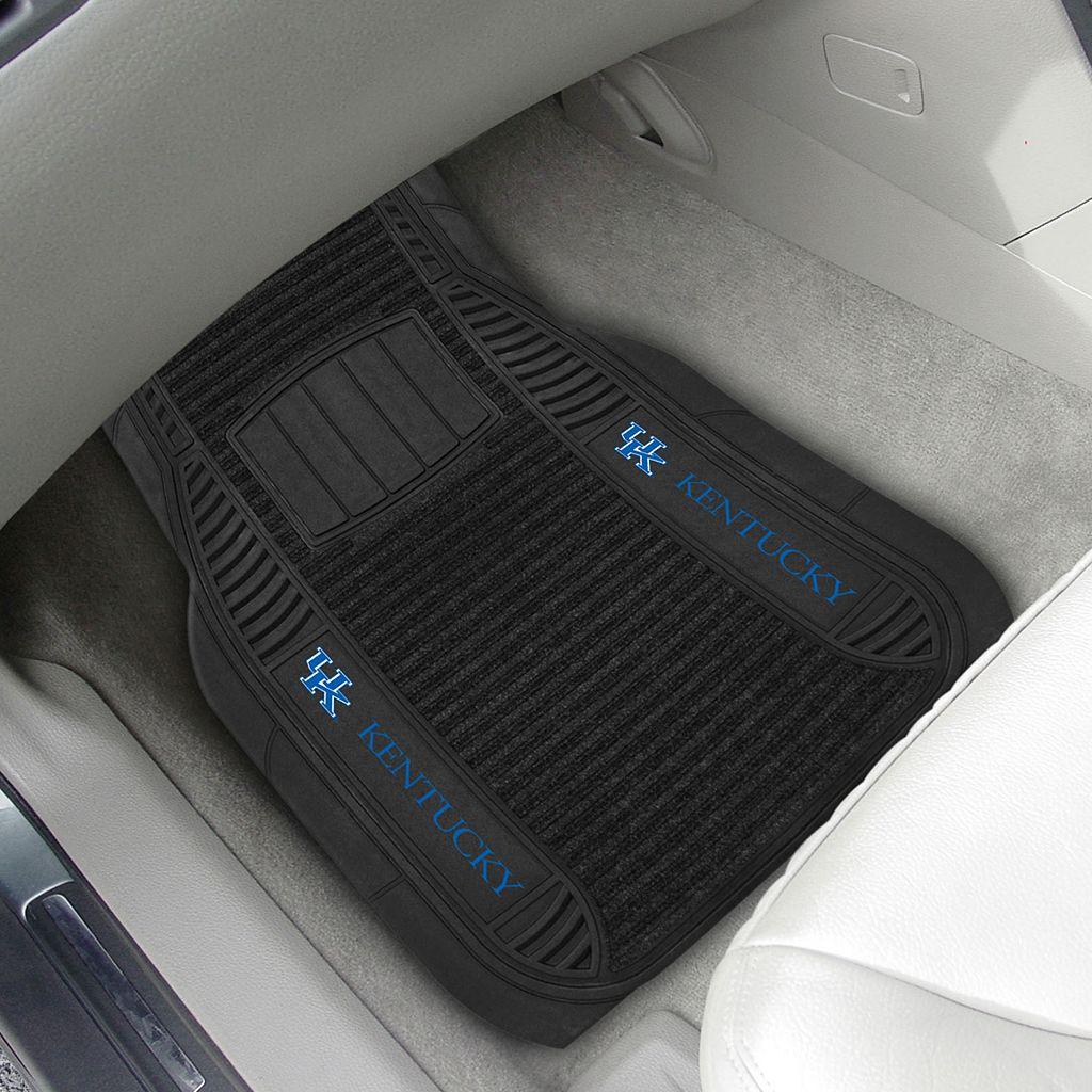 FANMATS 2-pk. Kentucky Wildcats Deluxe Car Floor Mats