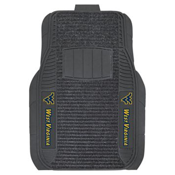 FANMATS 2-pk. West Virginia Mountaineers Deluxe Car Floor Mats