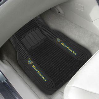 FANMATS 2-pk. West Virginia Mountaineers Deluxe Car Floor Mats