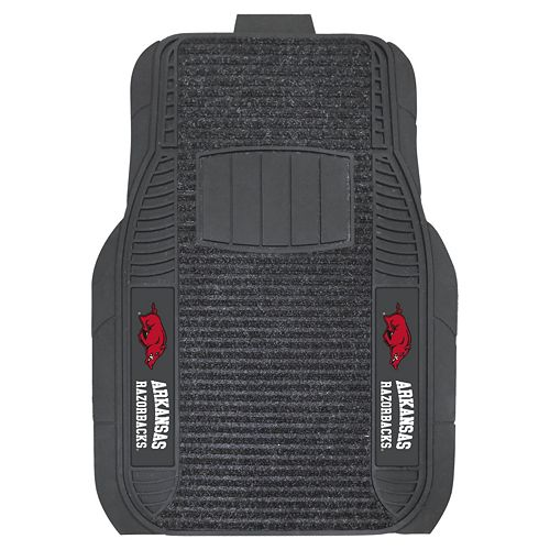 FANMATS 2-pk. Arkansas Razorbacks Deluxe Car Floor Mats