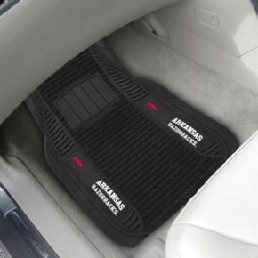 FANMATS 2-pk. Arkansas Razorbacks Deluxe Car Floor Mats