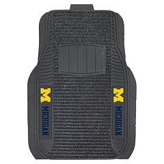 FANMATS 2 pkMichigan Wolverines Deluxe Car Floor Mats