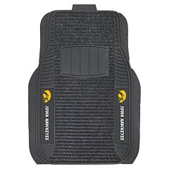 FANMATS 2-pk. Iowa Hawkeyes Deluxe Car Floor Mats