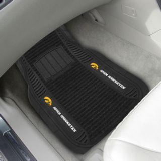 FANMATS 2-pk. Iowa Hawkeyes Deluxe Car Floor Mats