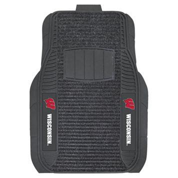 FANMATS 2-pk. Wisconsin Badgers Deluxe Car Floor Mats