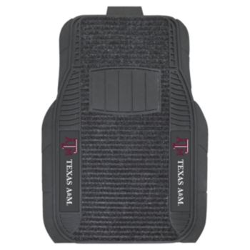 FANMATS 2-pk. Texas A and M Aggies Deluxe Car Floor Mats