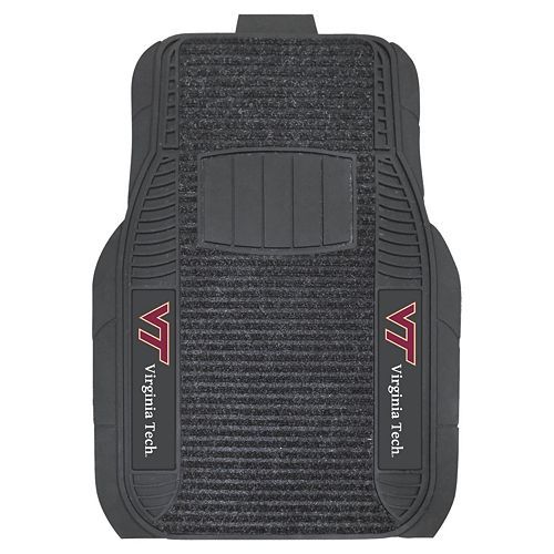 FANMATS 2-pk. Virginia Tech Hokies Deluxe Car Floor Mats