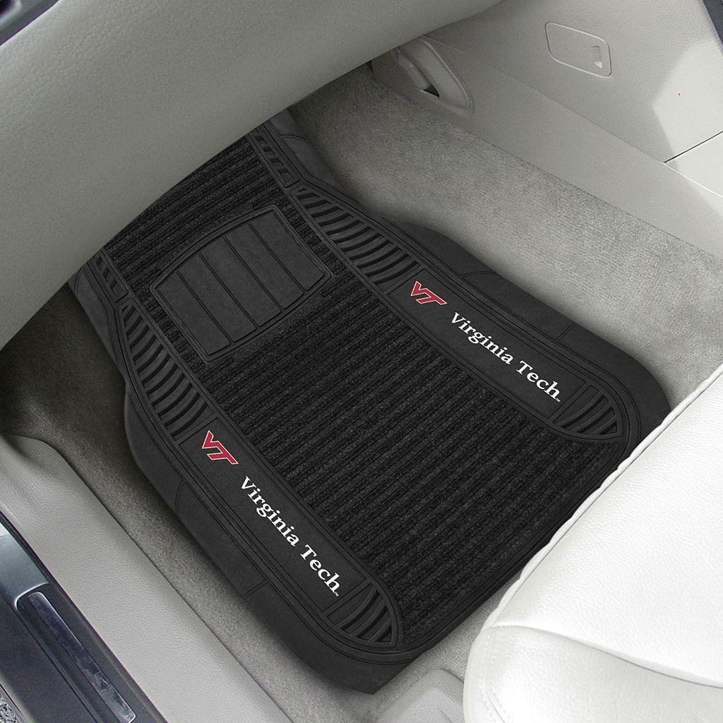 FANMATS 2-pk. Virginia Tech Hokies Deluxe Car Floor Mats