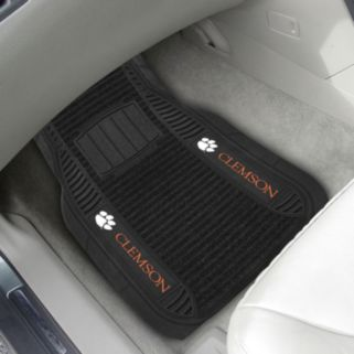FANMATS 2-pk. Clemson Tigers Deluxe Car Floor Mats