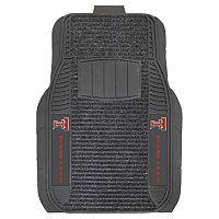 FANMATS 2 pkTexas Tech Red Raiders Deluxe Car Floor Mats
