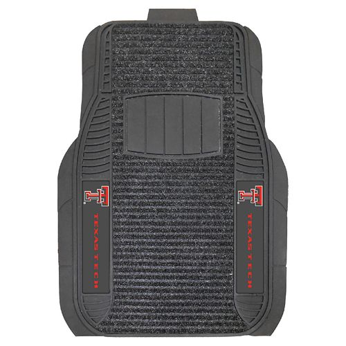 FANMATS 2-pk. Texas Tech Red Raiders Deluxe Car Floor Mats